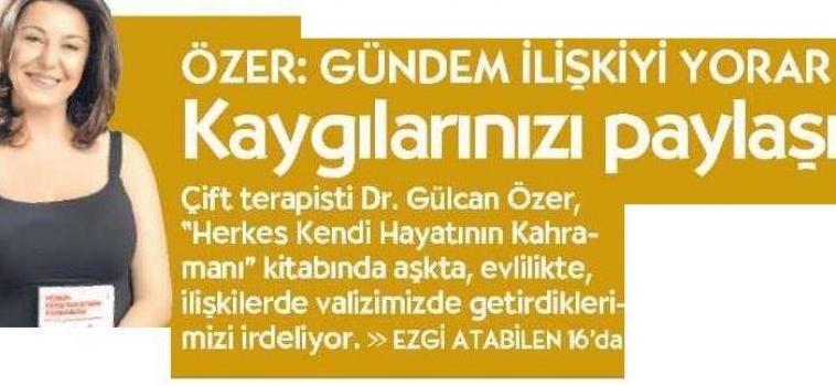 Gülcan Özer Gazete Küpürleri