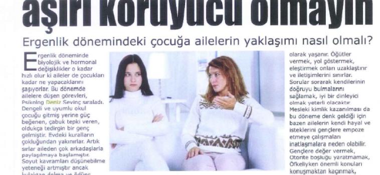 Deniz Sevinç Gazete Küpürleri
