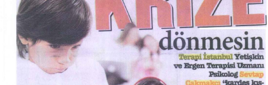 Sevtap Çakmakçı Gazete Küpürleri